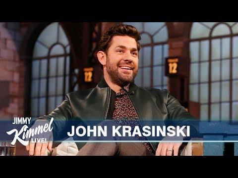 John Krasinski on Turning 40, The Office & Jack Ryan Stunts