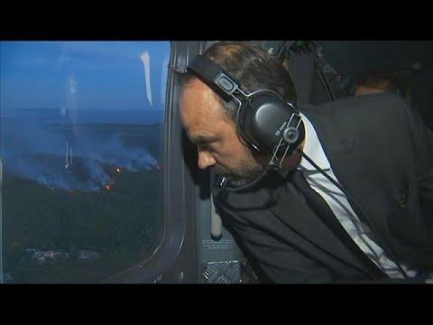 Συνδρομή πυροσβεστικών αεροσκαφών από χώρες της ΕΕ ζήτησε η Γαλλία