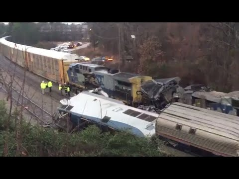 South Carolina Amtrak crash: 2 dead, 70 injured in derailment