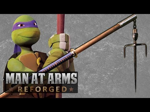 All TMNT Weapons Combined into One nbsp MAN AT