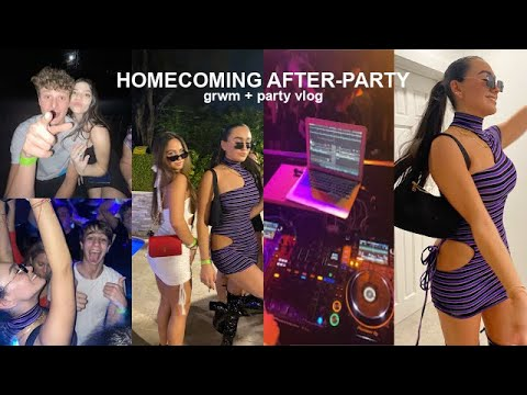 what homecoming after party is really like... (miami edition)