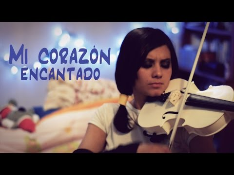 Mi Corazón Encantado❤en VIOLIN!!! (Lyric-Letra) Dragon Ball