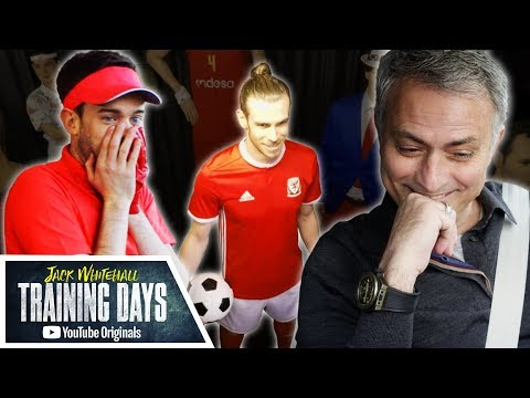Disastrous Driving with Mourinho & Waxworks Prank with Bale | Jack Whitehall: Training Days (видео)