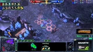 PvZ Puzzle(Kor) Vs Dimaga Cloud Kingdom Starcraft 2 HD Polski Komentarz