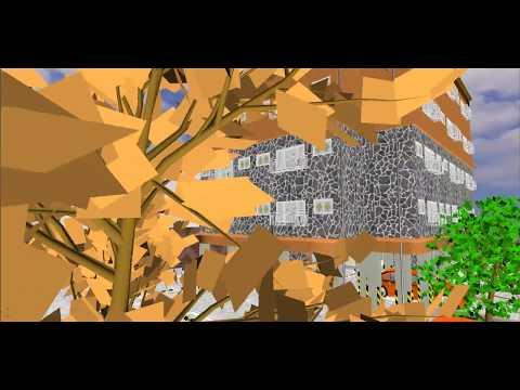 3D 동영상을 만들어보았습니다.  운치석-8103 (가상시공)