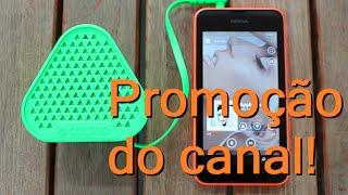 Todo mundo adora música! E acho que todos aqui adoram o Windows Phone, certo? Então que tal unir as duas coisas!Vou dar a um inscrito essa linda caixa de som da Nokia, Bang by Coloud.______________________________________________________________Veja aqui como fazer para participar dessa promoção. É fácil:1. Ser leitor do Janela Tech2. Estar inscrito neste canal (Tech Review)3. Curtir e comentar este vídeo, descrevendo seu amor pelo Windows e Música, unindo as duas coisas.O melhor e mais criativo comentário escolhido será o ganhador desta caixa de som, desde que cumpra os 3 requisitos acima. O resultado sai no começo de Março, e será divulgado aqui no canal e também no site Janela Tech.Obs.: Como adquiri o prêmio via Mercado Livre, abri a embalagem do mesmo para conferir se estava tudo Ok. Produto é novo e vai sem uso para o ganhador. O mesmo deve morar no Brasil.Dúvidas, por favor deixem nos comentários, responderei a todas.______________________________________________________________Descrição do prêmio: http://www.microsoft.com/pt-br/celulares/acessorio/md-1c/especificacoes/Janela Tech: http://www.janelatech.com.br/Abraço e Boa Sorte! :D