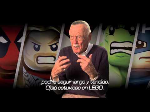 LEGO Marvel Super Heroes - Tráiler Stan Lee en español