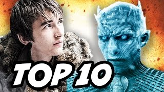 Game Of Thrones Season 7 TOP 10 Most Powerful Characters. Bran Stark, Bloodraven, White Walkers Night King, Wights, Khal Drogo and Daenerys Targaryen ...