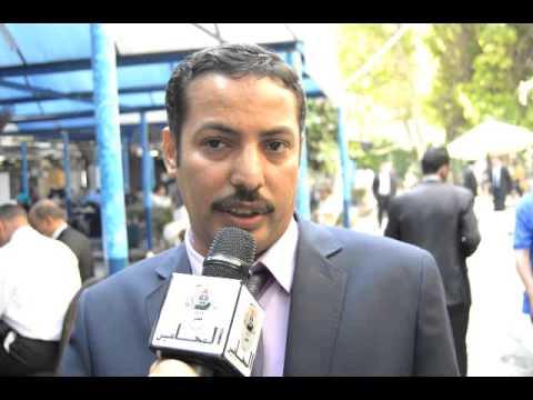 ابراهيم عبدالرحيم يقدم اوراق ترشحه علي مقعد عضو مجلس النقابة العامة عن الإسماعلية