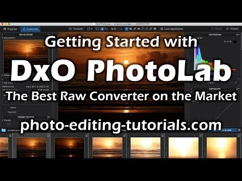 Overview of DxO PhotoLab