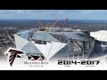[TIMELAPSE] Découvrez la construction du Mercedes-Benz Stadium d'Atlanta