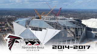 Mercedes-Benz Stadium 4K Time-lapse by EarthCam