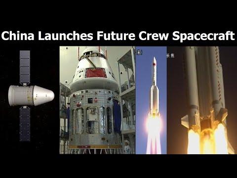 China's Biggest Rocket Launches Test Flight Of Next Generation Crew Spacecraft