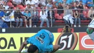 1 Gol de Ganso, 2 Gols de Neymar !Ninguém Segura A Fera.... Rumo Ao Tri Santos !!!