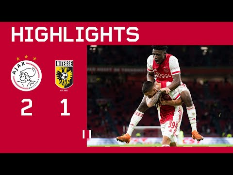 Highlights | Ajax - Vitesse | Eredivisie