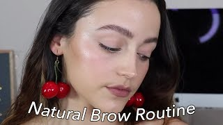 FEATHERY BROWS | Natural + Bold Updated Brow Routine by Kathleen Lights