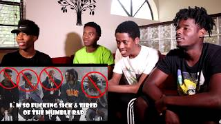 Mumble <b>Kendrick Lamar Humble</b> Parody Reaction