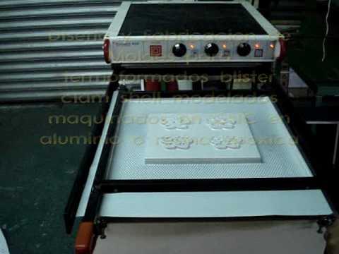 moldes de aluminio - Diseño y Fabricación para termoformado en aluminio resina epoxica.