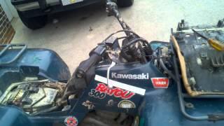 9. 1997 Kawasaki Bayou 300