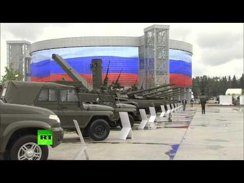 Выставка вооружения и военной техники на форуме «Армия-2015»