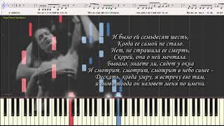 """Лучшая песня о любви - гр. """"Високосный год"""" (Ноты и Видеоурок для фортепиано) (piano cover)"""