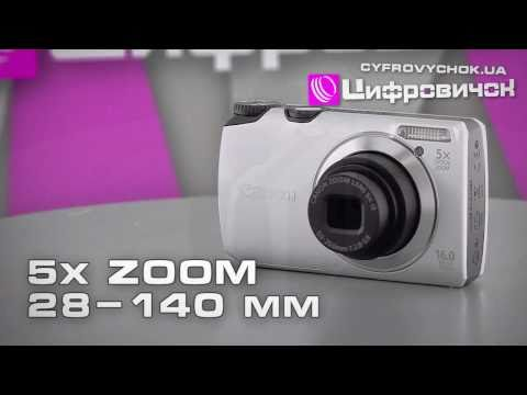 Видеообзор Canon PowerShot A2200 A3300 IS