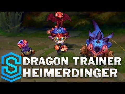 Heimerdinger Luyện Rồng - Dragon Trainer Heimerdinger