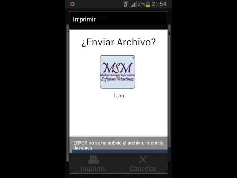 Video of Impresora Android