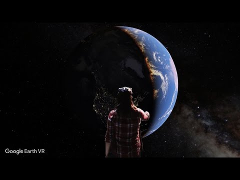Google Launching Google Earth VR