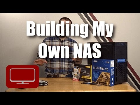 Building My Own NAS - Home file server build with FreeNAS