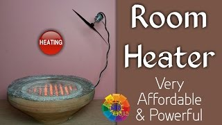 Welcome Easy Life IdeasVideo URL: https://youtu.be/SCxIQbn0Q4QYou can make ROOM HEATER For room. very easy to make and affordable.Preparation :1. Heater Element ( 1000 W )2. Ceramic Heater Plate3. Clay Pot4. Iron Wire Net5. Power Cord6. Drill Machine7. Spanner8. Nut - Bolt9. Thin Iron Wire10. Sleeve11. USB Charger12. 3v -6v Dc Moter Connect to USB Wire13. Propeller14. Thick Iron WireCAUTION : Should Only be Done by A ProfessionalThe Great Indian Channel Which Serves You The Best To Make Your Day To Day Life Easier And More Comfortable. It Is The Need Of Such A Busy Life.This Channel Promise To Its Viewers To Promote It's Innovation At You ! Thanks For Watching My Videos & Please LIKE & SUBSCRIBE My Channel For More 'IDEAS'About EASY LIFE IDEAS Channel:This channel is all about How To, Home Made, DIY, Great Ideas, simple, funny and entertainment for Viewers…WARNING: My videos are provided only for entertainment and watching purposes only. Please don't try to do what I did in my videos. No one is liable for any loss or damage caused by your reliance on information contained in my videos. Entertain yourself but always be safe, and everything you do is at YOUR OWN RISK!!!!