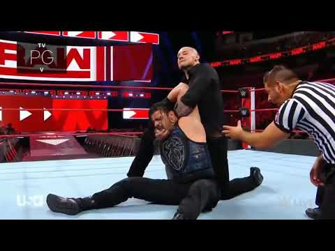 Roman Reigns Vs Baron Corbin - No Disqualification(720P_HD)