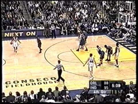 Orlando Magic @ Indiana Pacers (05/03/2002)
