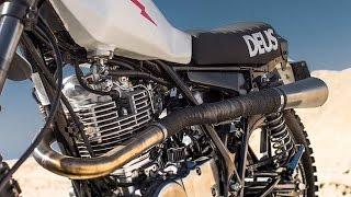 5. Onlinemotor Yamaha Vintage Motorcycle SR 400 Lightning Intermot 2914