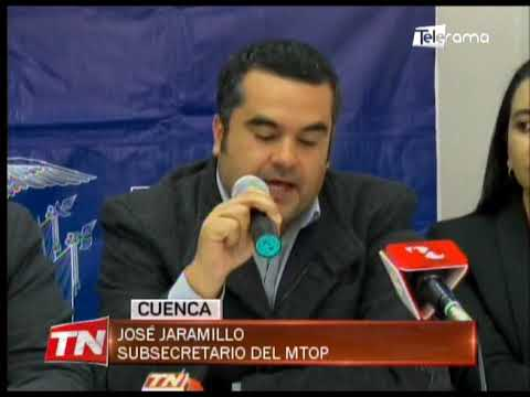 Cerrarán un carril de la autopista Cuenca - Azogues para estabilizar talud