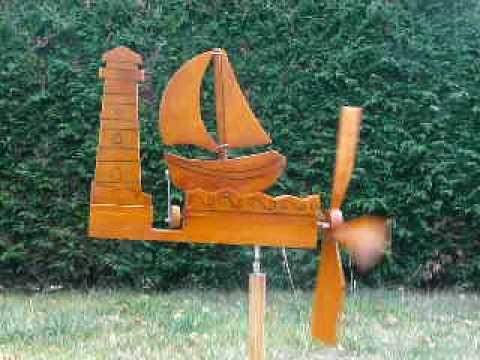 comment construire une girouette en bois
