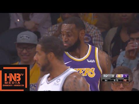 Los Angeles Lakers vs San Antonio Spurs 1st Qtr Highlights   12.05.2018, NBA Season