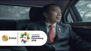 Video Presiden Joko Widodo Meriahkan Opening Ceremony Asian Games 2018 MP3, 3GP, MP4, WEBM, AVI, FLV Januari 2019