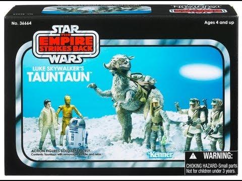 Star Wars Luke Skywalker's Tauntaun Vintage Collection HD Review | www.flyguy.net видео