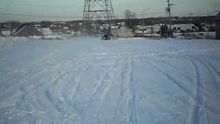 10. ski doo  mxz x 800r top speed