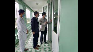 Phó Chủ tịch UBND thành phố Nguyễn Văn Thành kiểm tra điểm thu dung cách ly dịch Covid - 19