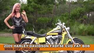 5. Used 2009 Harley Davidson CVO Fat Bob Motorcycles for sale