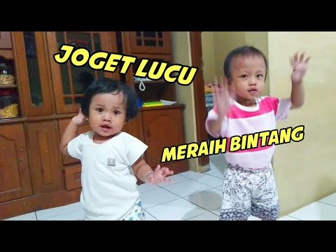 Duo Balita Lucu Joget Lagu Meraih Bintang (Cover) Asian Games 2018