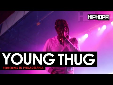 Young Thug Performs Live In Philly (5/1/16)