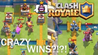 clash Royale arena 6with CameraFi Live