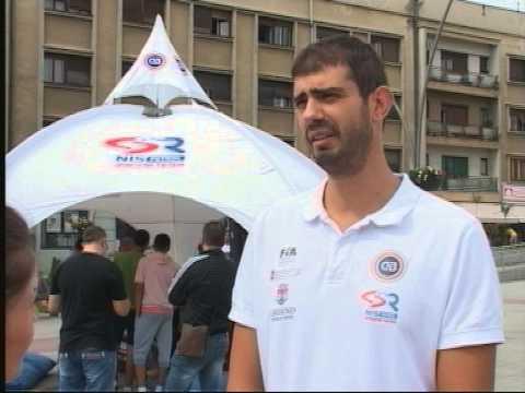 Aktuelni šampion Evrope u automobilizmu posetio Čačak