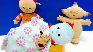 IN THE NIGHT GARDEN Soft Toys IGGLE PIGGLE Feels Sick!