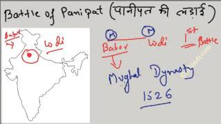 Panipat India  city photo : Battle of Panipat - First, Second and Third : Remember easily : History of India