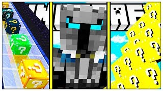 MINECRAFT DELTA LUCKY BLOCK MICRO GAMES - LUCKY BLOCK RACE VS LUCKY BLOCK STAIRS VS LUCKY BLOCK BOSS