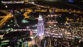 Puncak Gedung Tertinggi Di Dunia! Burj Khalifa Dubai